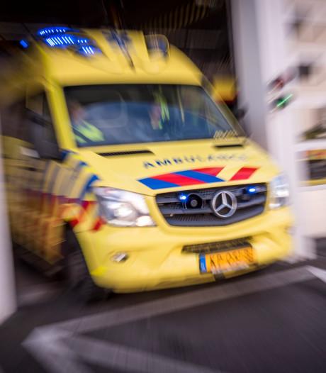 Gewonde bij ongeval aan Spoorlaan in Zwammerdam