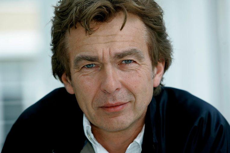 De Nederlandse presentator Derk Bolt van het programma Spoorloos
