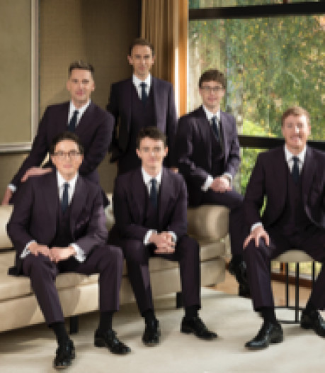 Populaire The King's Singers terug in Tilburg