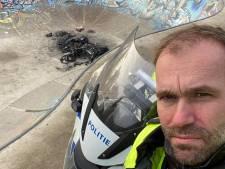 Jongeren steken scooter in brand op skatebaan in Schothorst: 'Wees zuinig op je hangplek!'