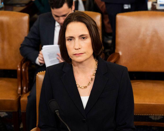 Fiona Hill, voormalige specialiste Rusland en Europa bij de Amerikaanse Binnenlandse Veiligheidsraad.