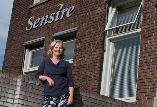 Sensire directeur Renée Wilke bij het hoofdkantoor in Varsseveld.