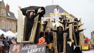 51ste carnavalsstoet trekt door Zwevezeelse straten