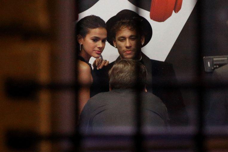 Neymar en Bruna Marquezine.