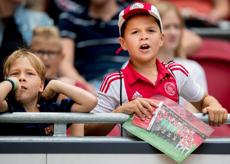 Fans op de tribune. Beeld ANP