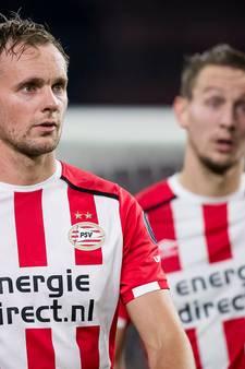 PSV zonder de  gebroeders De Jong tegen Ajax
