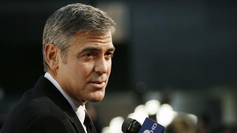 George Clooney. © AFP Beeld