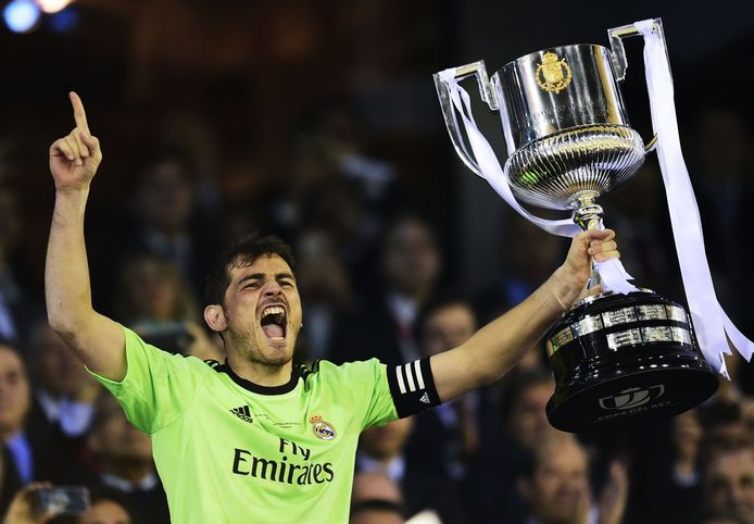 Real Madrid wint de Copa del Rey in 2014 door FC Barcelona te verslaan.