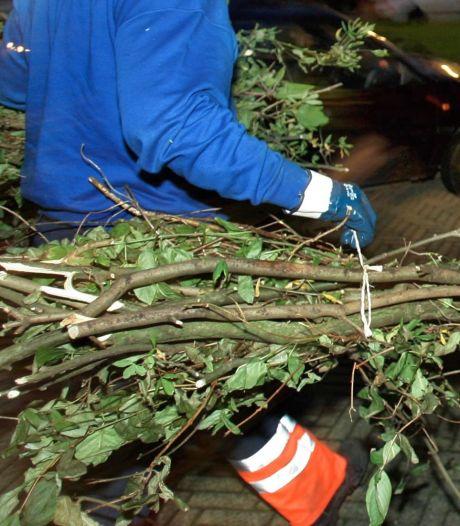 Man op heterdaad betrapt bij tuinafvaldumping in Oosterhout
