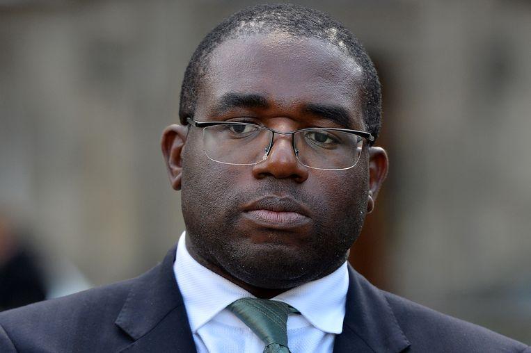 David Lammy is lid van het Britse Lagerhuis voor Labour. Beeld AFP
