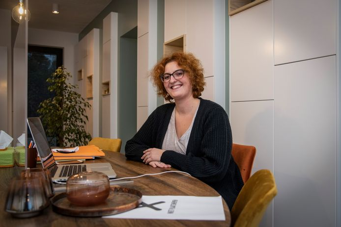 Makelaar Hanne De Smedt van DS-Vastgoed.