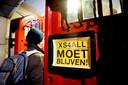 De deur van de Waag Amsterdam