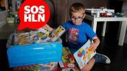 SOS HLN. Thor (7) heeft zware hersenafwijking maar postkaartjes maken hem blij. Stuur jij hem eentje voor zijn communie?