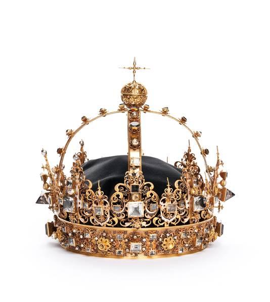 De begrafeniskroon van Zweedse koning Karl IV.