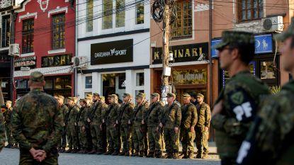 """Kosovo zet eerste stap naar eigen leger: """"Bedreiging voor de vrede"""" volgens Servië"""