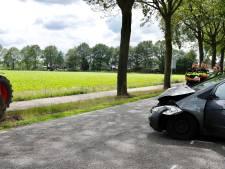 Eenzijdig auto-ongeluk op De Quayweg in Landhorst