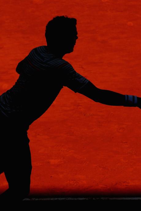 Milos Raonic laat Roland Garros schieten