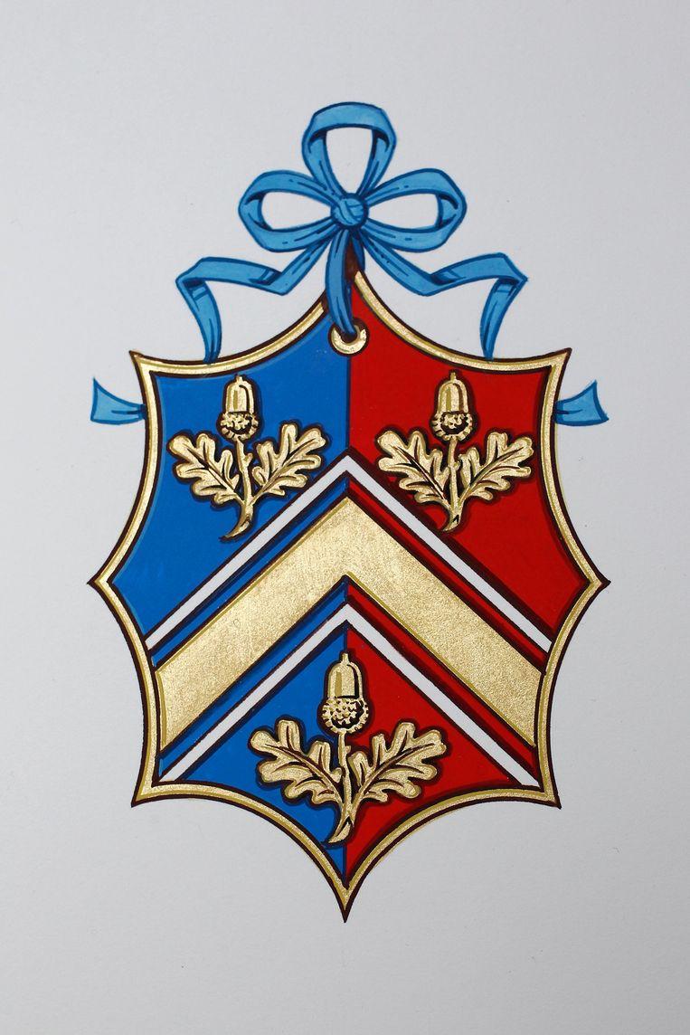 Het wapenschild van de Middletons.