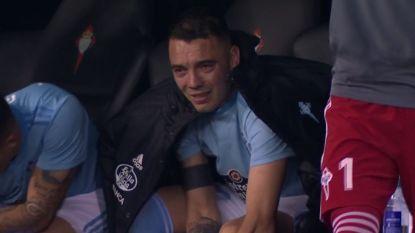 Wat kan voetbal mooi zijn: getergde spits huilt tranen met tuiten nadat hij team aan levensbelangrijke zege helpt