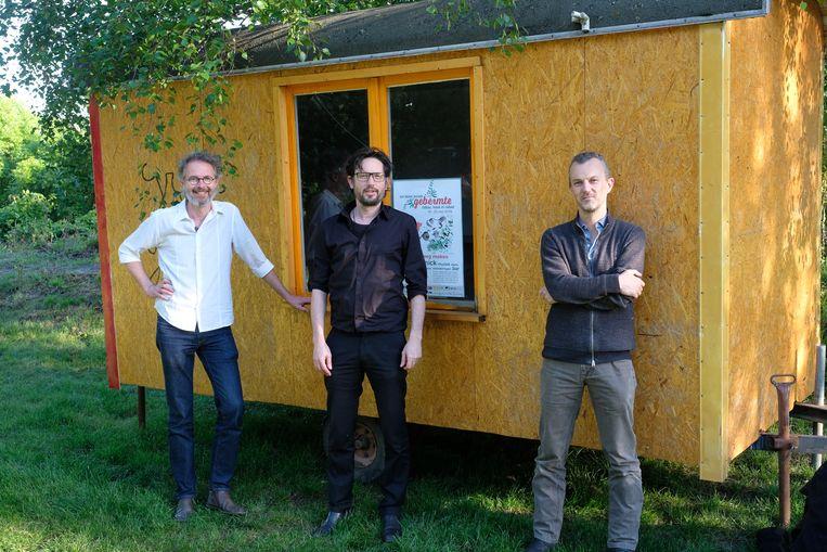 Christophe Batens , Bart Pluym en Pieter Van den Broeck van Gebermte.