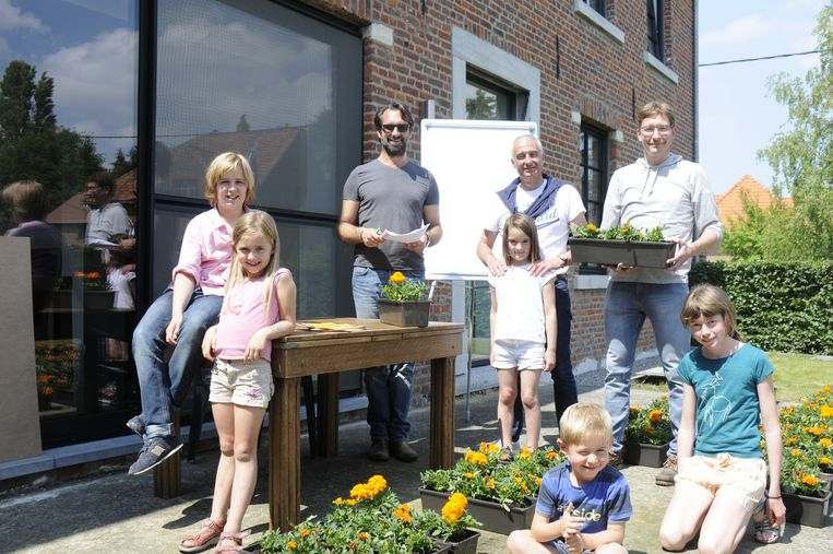 De bloemen vlogen vandaag de deur uit in Goetsenhoven.