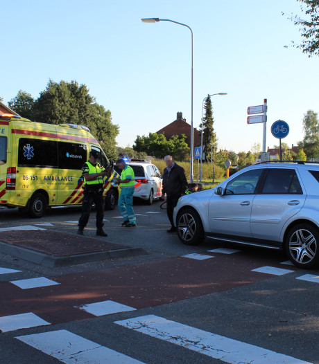 Fietser gewond bij aanrijding met auto in Aalten