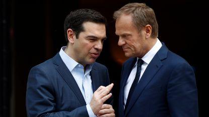Griekse premier Tsipras wil snel akkoord met kredietverleners óf eurotop