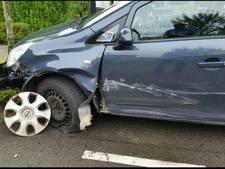 Veroorzaker ongeval rijdt door