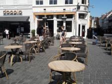Het wordt warm, maar in Breda is er straks weer plek op het terras: zonder 'terraspolitie'