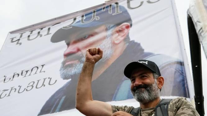 Duizenden betogen in Jerevan tegen de Armeense regering
