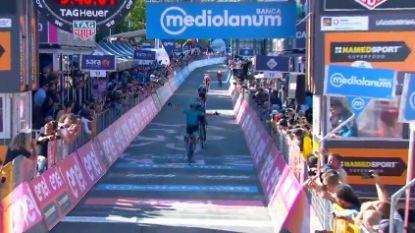 Bekijk hier de slotkilometer van de 20ste Giro-rit