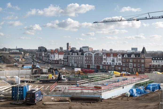 De nieuwbouwwijk Batavia aan de Waal in West groeit razendsnel.