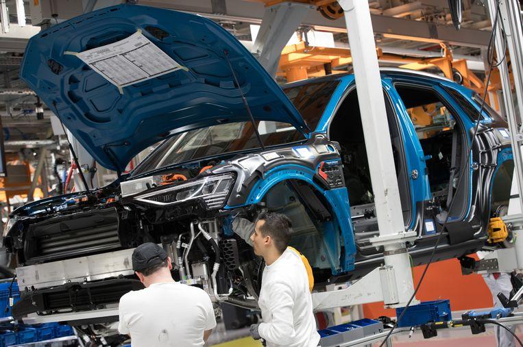 De Audi-fabriek in Vorst.