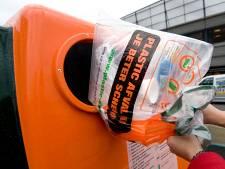 Afvalzak voor plastic op rantsoen in Enschede: in 2021 alleen nog met bon