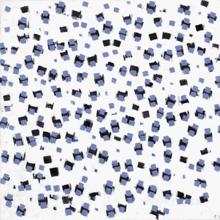 Edgar Fernhout: Winter, 1973. (COLLECTIE MUSEUM VOOR MODERNE KUNST ARNHEM) Beeld
