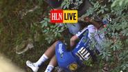 KIJK LIVE. Kopgroep van zes snijdt de Civiglio aan, Evenepoel afgevoerd met ambulance na val in het ravijn