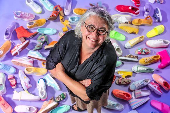 """Elise Vanaudenhove (51) heeft nog werk aan het imago van haar familiebedrijf. """"Onze klanten zijn contenter dan die van de concurrentie, maar niet-klanten denken dat wij rommel verkopen."""""""
