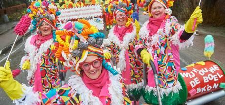Streep door optochten en carnavalsballen in Heesch, Nistelrode en Vorstenbosch