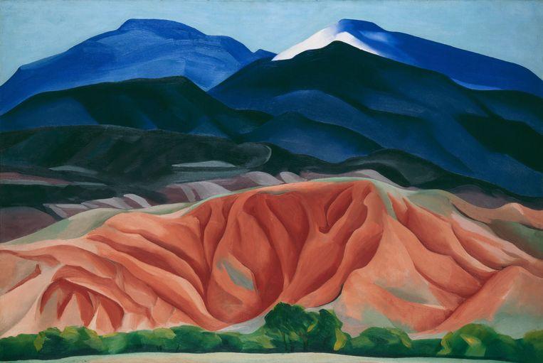 Georgia O'Keeffe (1887-1986). Black Mesa Landscape, New Mexico. Beeld Imageselect