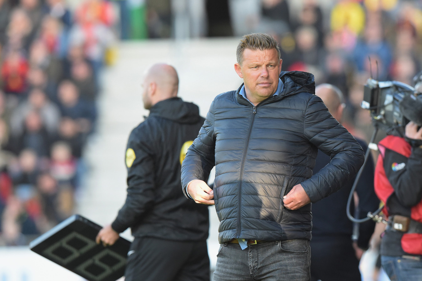 28-05-2019: Voetbal: Go Ahead Eagles v RKC Waalwijk: DeventerKeukenkampioendivisie seizoen 2018-2019, NacompetitieL-R: John Stegeman, coach-trainer of Go Ahead Eagles