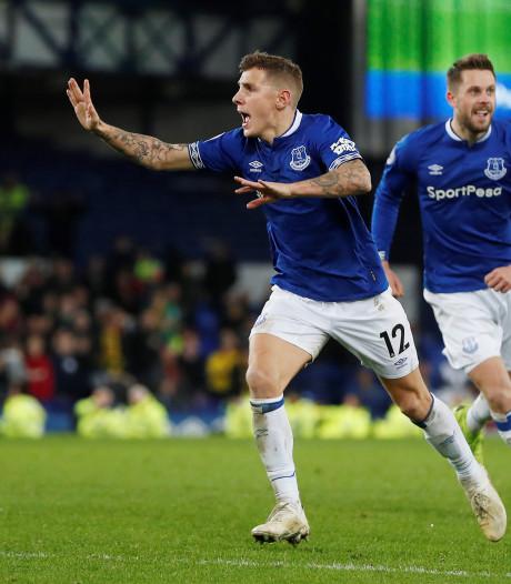 Everton sleept gelijkspel uit het vuur ondanks eigen goal en gemiste penalty