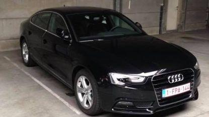 Audi gestolen op parking Blaarmeersen