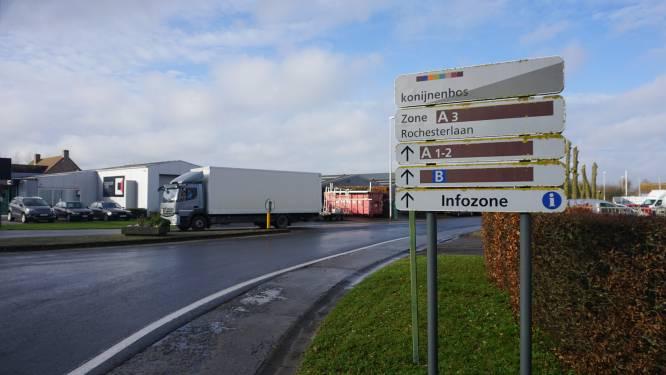 Gratis parkeerkaart voor Gistelse truckers moet overlast in en rond industriezone vermijden