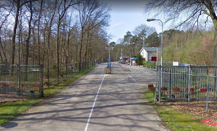 De ingang naar kamp Walaardt Sacré.
