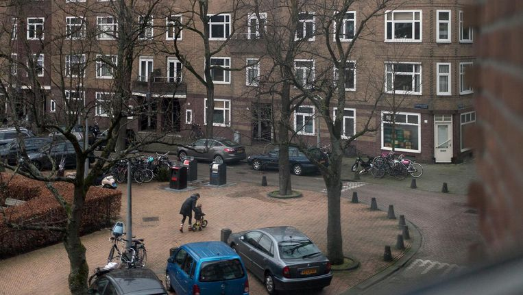 De Oude-IJselstraat. Zinna B. en haar familie bewoonden hier drie appartementen Beeld Maarten Boswijk