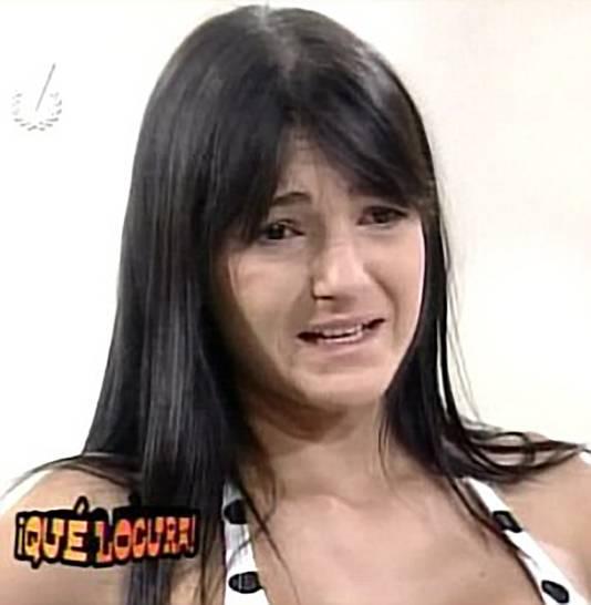 Zo zag Aleira eruit voor ze onder het mes ging.