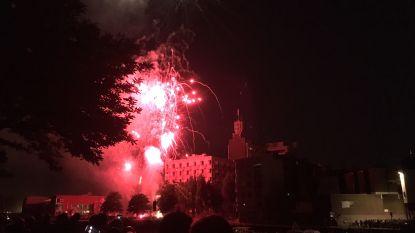 Duizenden kijkers in de ban van vuurwerk aan Portus Ganda