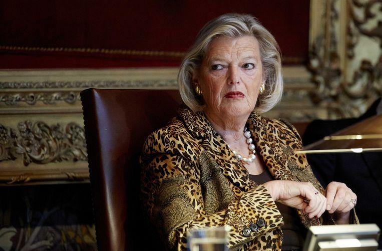 Ankie Broekers-Knol als voorzitter van de Eerste Kamer. Zij volgt Harbers op als staatssecretaris van Asielzaken. Beeld ANP