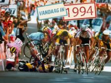 De politieagent die een foto van de Tour de France wilde maken
