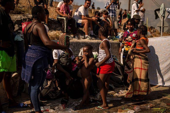 De vluchtelingen die dachten dat het niet erger kon worden dan het geïmproviseerde tentenkamp, gaan nu door een nieuwe hel.
